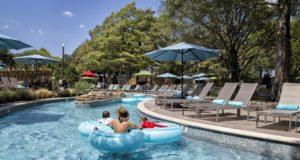 Jadewaters Resort Pool Complex At Hilton Anatole